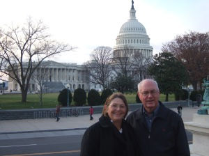 Mom & Dad Visit Washington, DC (12/2011).